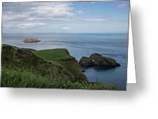 Carrick Island From Portaneevey Greeting Card