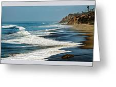 Carrillo Beach Greeting Card