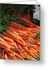Carrot Bounty Greeting Card