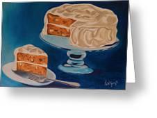 Carrot Cake Greeting Card