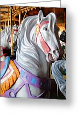 Carrousel 25 Greeting Card