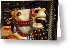 Carrousel 40 Greeting Card