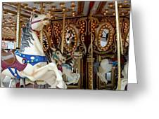 Carrousel 41 Greeting Card