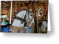 Carrousel 42 Greeting Card