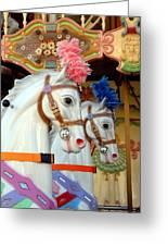 Carrousel 53 Greeting Card