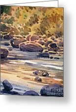 Carson River In Autumn Greeting Card