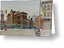 Carson Street Southside Pittsburgh Greeting Card