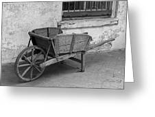 Cart For Sale II Greeting Card