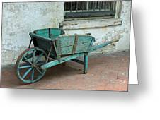 Cart For Sale Greeting Card