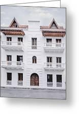 Cartagena De Indias Greeting Card