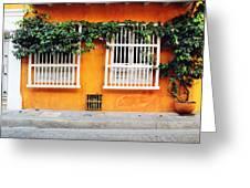 Cartagena Street Greeting Card
