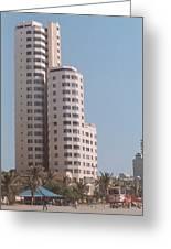 Cartagena Towers Greeting Card