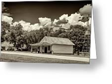 Carter Boyhood Home Greeting Card