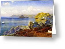 Carthillon Cliffs Greeting Card