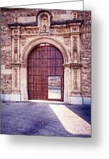 Carthusian Monastery Granada Greeting Card
