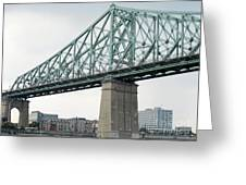 Cartier Bridge Day Greeting Card
