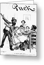 Cartoon: Anarchist, 1893 Greeting Card