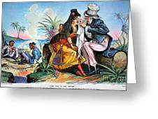 Cartoon: Cuba, 1895 Greeting Card