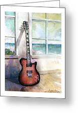 Carvin Electric Guitar Greeting Card