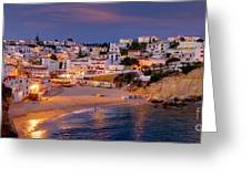 Carvoeiro In The Evening Greeting Card