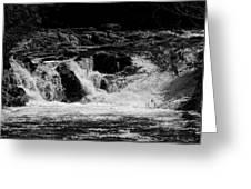 Cary Falls Greeting Card