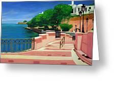 Casa Blanca - Puerto Rico Greeting Card