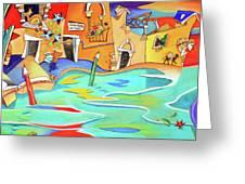 Casa Del Tintoretto Greeting Card