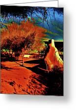 Casa Grande Abstract I Greeting Card