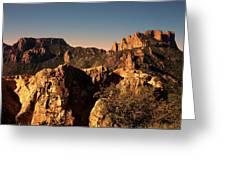 Casa Grande Peak 3 Greeting Card