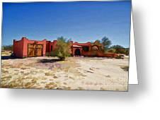 Casa Rojas Greeting Card