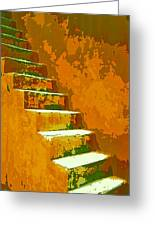 Casablanca Stairway Greeting Card