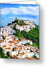 Casares From Laura's View Greeting Card