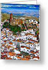 Casares From Signal Hill Greeting Card