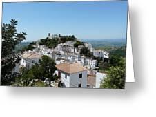 Casares Spain Greeting Card