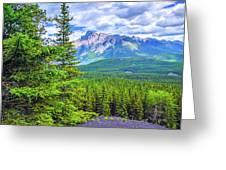 Cascade Mountain Greeting Card