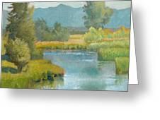 Cascade Pond Greeting Card