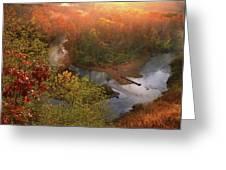 Cascade Valley Sunrise Greeting Card