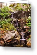 Cascades N Pool Greeting Card