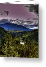 Cascades View Greeting Card