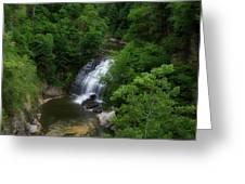 Cascadilla Waterfalls Cornell University Ithaca New York 02 Greeting Card