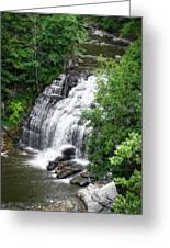 Cascadilla Waterfalls Cornell University Ithaca New York 03 Greeting Card