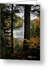 Cascading Colors Greeting Card