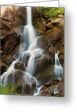 Cascading Falls Greeting Card