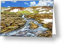 Cascading Source Stream Greeting Card