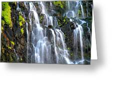 Cascading Springs Snake River Canyon Greeting Card
