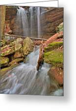 Cascading Waterfall Greeting Card