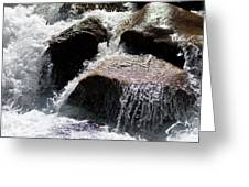 Cascading Waters Greeting Card