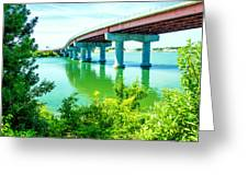 Casco Bay Bridge Greeting Card