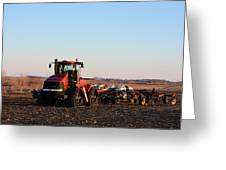 Case Ih Power Greeting Card