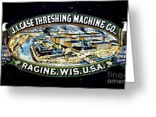 Case Threshing Machine Co Greeting Card